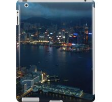 Night on the City VI - Hong Kong. iPad Case/Skin