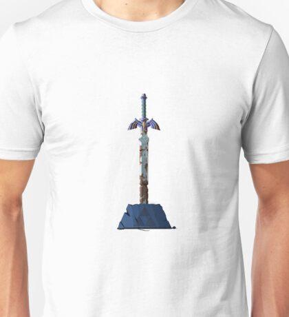 Legend Of Zelda BOTW Pixel Rusted Master Sword  Unisex T-Shirt