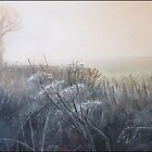 Frosty Hedgerow - framed £350 by alanpeach