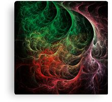 Abstract Art Space Fire Canvas Print