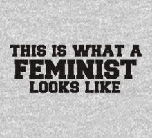 This is what a feminist looks like by Boogiemonst