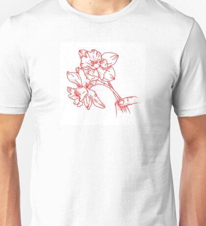 red daffodils  Unisex T-Shirt