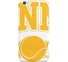 Tennis Team iPhone Case/Skin