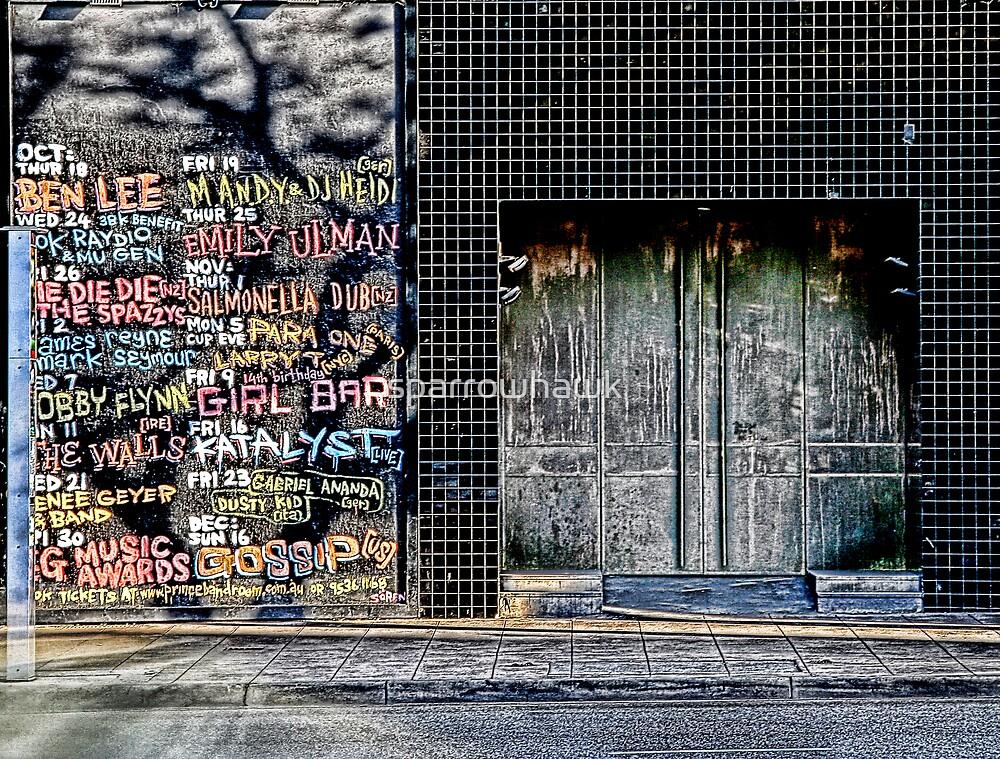 Pub Wall by sparrowhawk