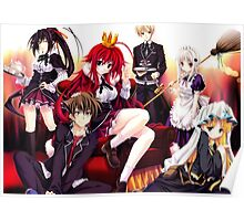 Highschool DxD - Rias Gremory, A True Family Poster