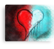 Don't Let Your Love Grow Cold Canvas Print