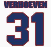 Basketball player Pete Verhoeven jersey 31 by imsport