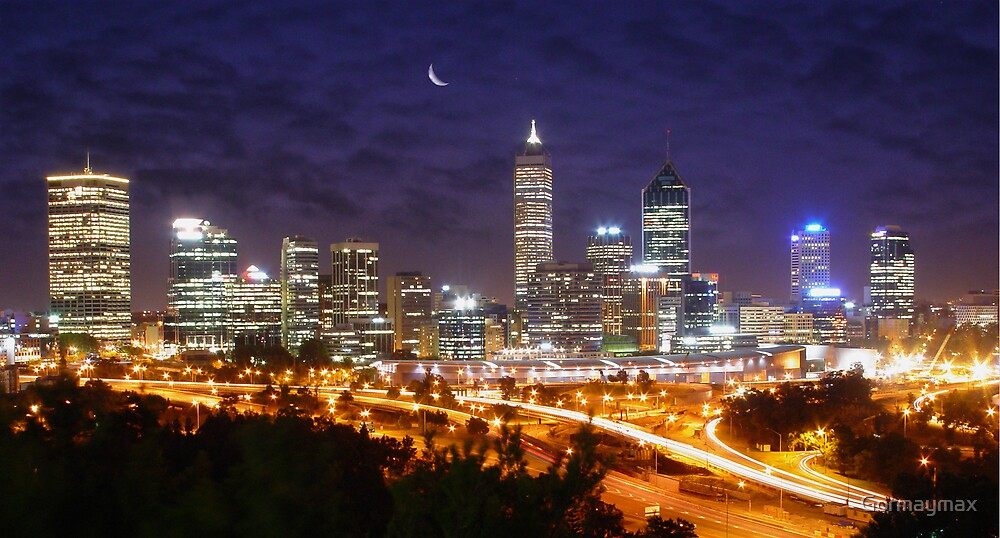 Perth's Night sky by Gormaymax