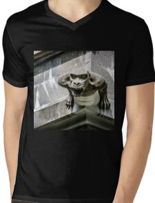 The Nidaros Cathedral in Trondheim, Norway. Mens V-Neck T-Shirt