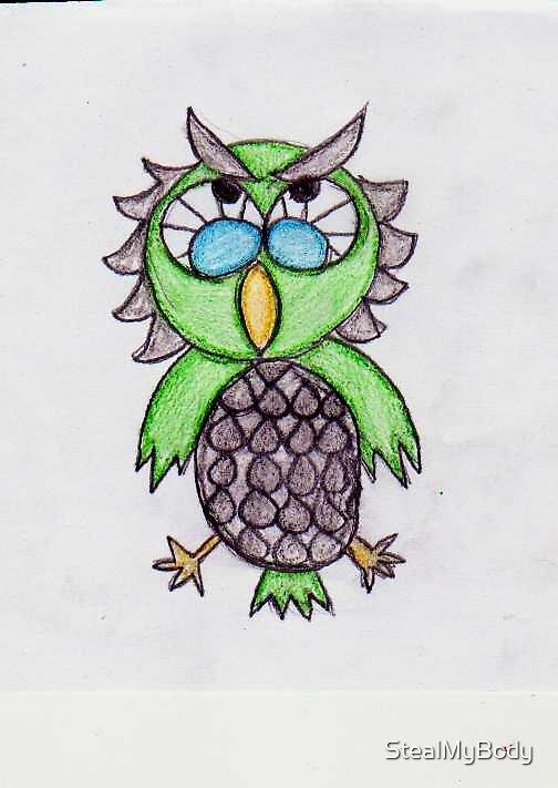 owl by StealMyBody