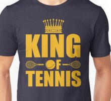 King of Tennis Unisex T-Shirt