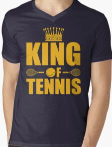 King of Tennis Mens V-Neck T-Shirt