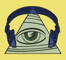 hipster illuminati confirmed? Kids Tee