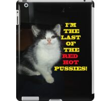 Sophia The Cat #2 [Tex's Owner] iPad Case/Skin