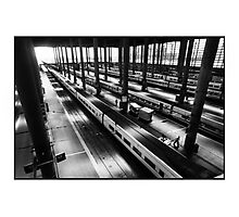Atoche Train Station Madrid A to B Photographic Print