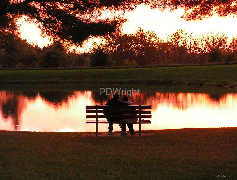 Sunset Couple by PDWright