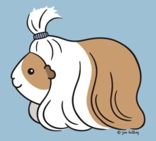 Guinea-pig Tail - long haired cavy Kids Tee
