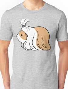 Guinea-pig Tail - long haired cavy Unisex T-Shirt
