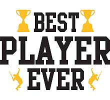 Best player ever Photographic Print