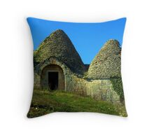 Trullo farm house  Throw Pillow