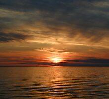 Boiling Sun Set by Lillian Reichert