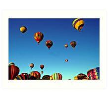 I love the sky! Art Print