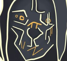 Dishonored - Corvo Attano Sticker