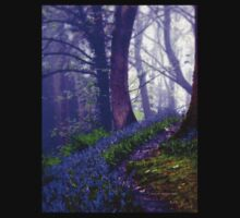 Bluebells in the Forest Rain Kids Clothes