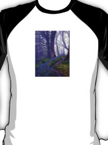 Bluebells in the Forest Rain T-Shirt