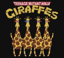 Teenage Mutant Ninja Giraffes Kids Clothes