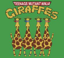 Teenage Mutant Ninja Giraffes Baby Tee