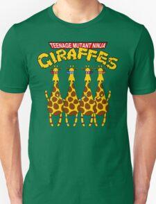 Teenage Mutant Ninja Giraffes T-Shirt