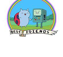 Bravest Adventure Friends by HelloKoopa