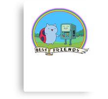 Bravest Adventure Friends Canvas Print