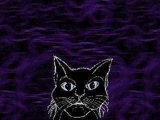 Cat in Smoke by usefulltool
