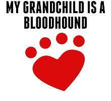 My Grandchild Is A Bloodhound by kwg2200