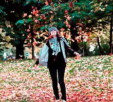 Autumn leaves 1 by Rebecka Wärja