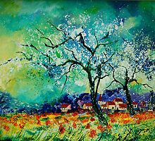 blooming appletrees by calimero