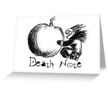 Death Note - Ryuk Greeting Card