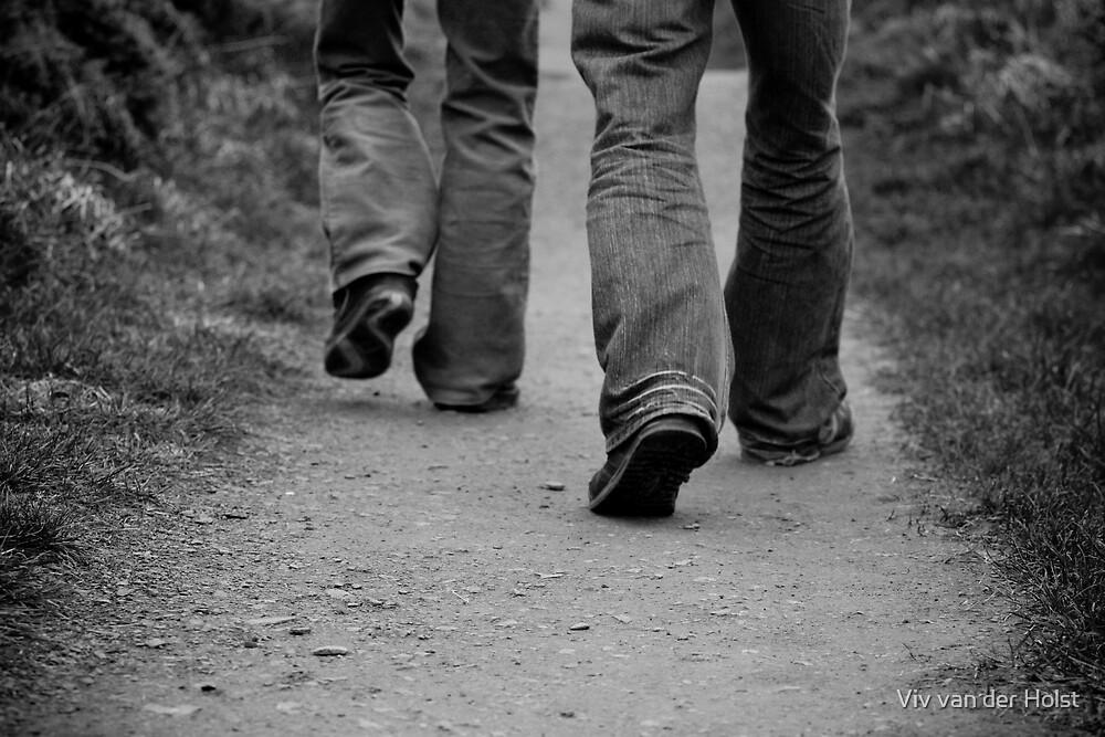 walk with me by Viv van der Holst
