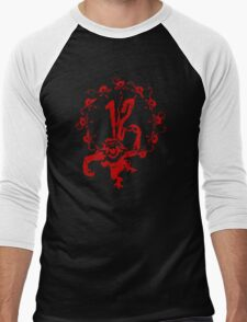 12 Monkeys - Terry Gilliam - Red on Black Men's Baseball ¾ T-Shirt