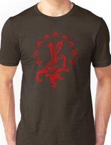 12 Monkeys - Terry Gilliam - Red on Black Unisex T-Shirt
