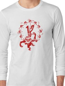 12 Monkeys - Terry Gilliam - Red on White Long Sleeve T-Shirt