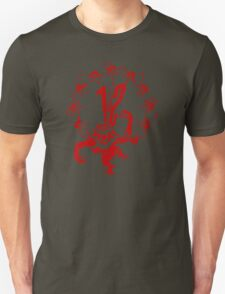 12 Monkeys - Terry Gilliam - Red on White T-Shirt