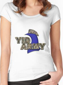 The Yid Army - Tottenham's Faithful Fans Women's Fitted Scoop T-Shirt