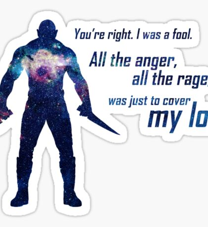 All the Anger, All the Rage Sticker