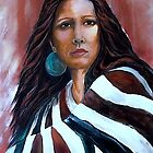 """""""Wrapped In Tradition, Naomi"""" by Susan Bergstrom"""