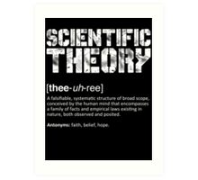 Scientific Theory Art Print