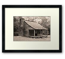 The Shields Place  Framed Print