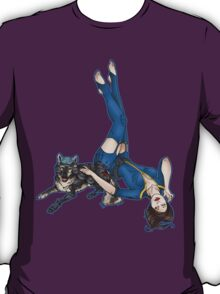 K9 UNT and Pin-Up T-Shirt